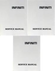 2002 Infiniti G20 Service Manual Volume 1, 2, 3