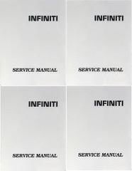 2003 Infiniti G35 Sedan Service Manual Volume 1, 2, 3, 4