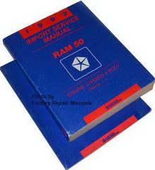 1993 Dodge Ram 50 Pickup Service Manual Volume 1, 2