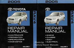 2005 Toyota RAV4 Repair Manuals
