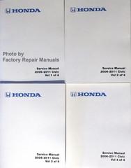 2006-2011 Honda Civic Service Manuals