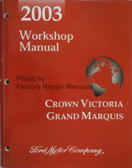 2003 Ford Crown Victoria, Grand Marquis Marauder Workshop Manual