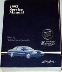 1993 Buick Skylark Service Manual