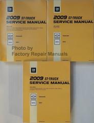 2009 GM ST Truck Chevrolet TrailBlazer GMC Envoy Service Manual Volume 1, 2, 3