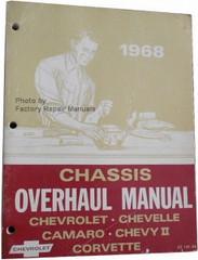 1968 Chevrolet Bel Air Camaro Corvette Chevelle El Camino Impala Unit Repair Overhaul Manual