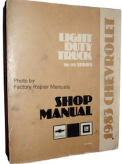 1983 Chevrolet Light Duty Truck 10-30 Series Shop Manual