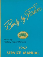1967 Oldsmobile Fisher Body Service Manual