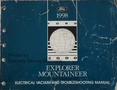 1998 Explorer Mountaineer Electrical Vacuum and Troubleshooting Manual