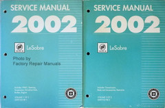 Service Manual 2002 Buick LeSabre Volume 1 and 2