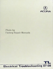 ACURA TL Electrical Troubleshooting Manual 07-08