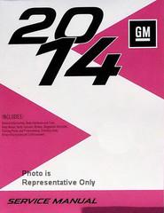 2014 Chevy Spark Gasoline Models Service Manual GM S Platform