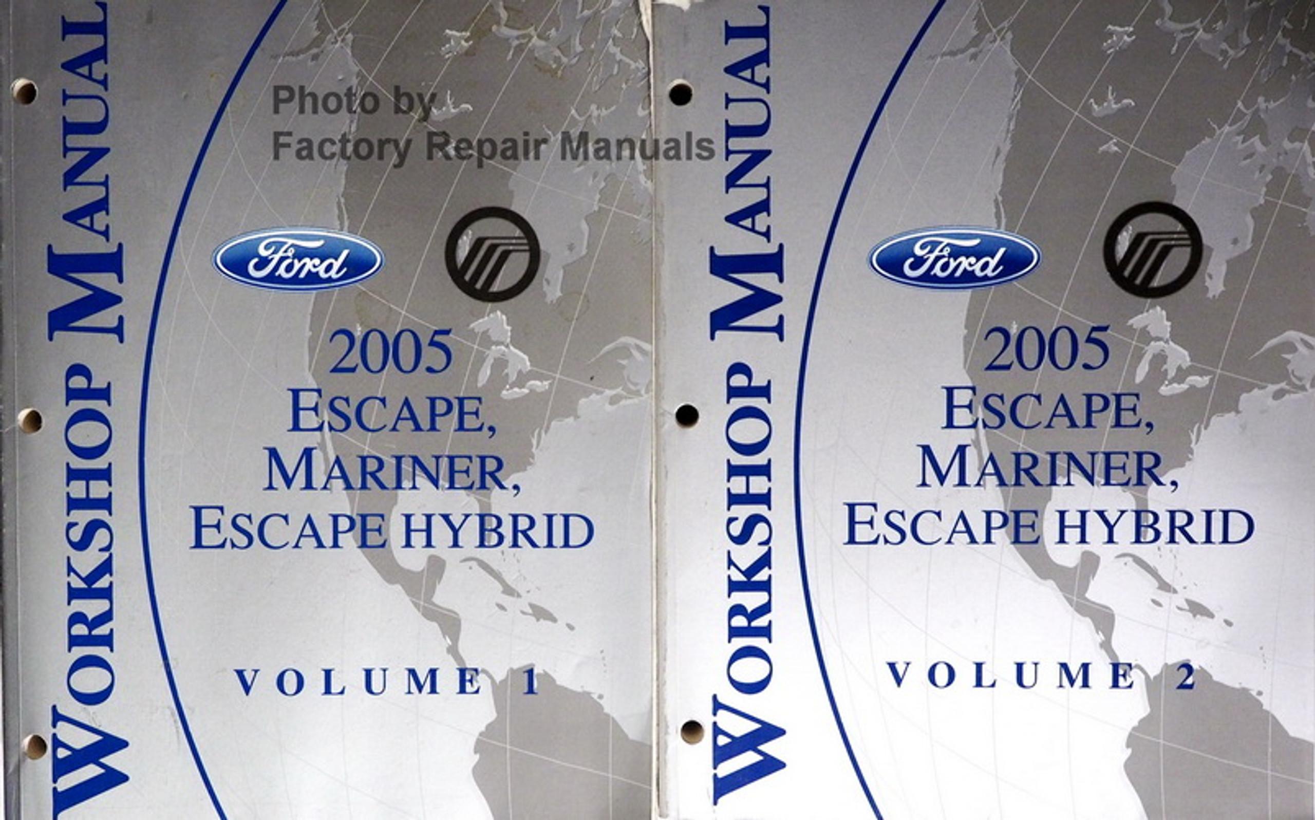 2005 Ford E150 E250 E350 E450 Econoline Van Club Wagon
