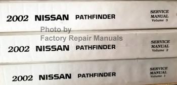 2002 Nissan Pathfinder Service Manual Volume 1, 2, 3