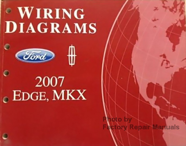 2007 Ford Edge And Lincoln Mkx Electrical Wiring Diagrams