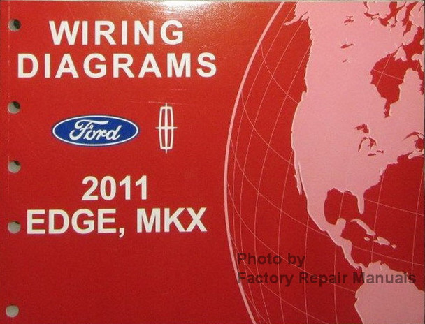 2011 Ford Edge  U0026 Lincoln Mkx Electrical Wiring Diagrams