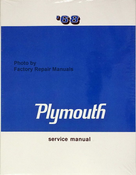 1968 plymouth satellite wiring diagram 1968 plymouth shop service manual barracuda belvedere fury gtx  1968 plymouth shop service manual