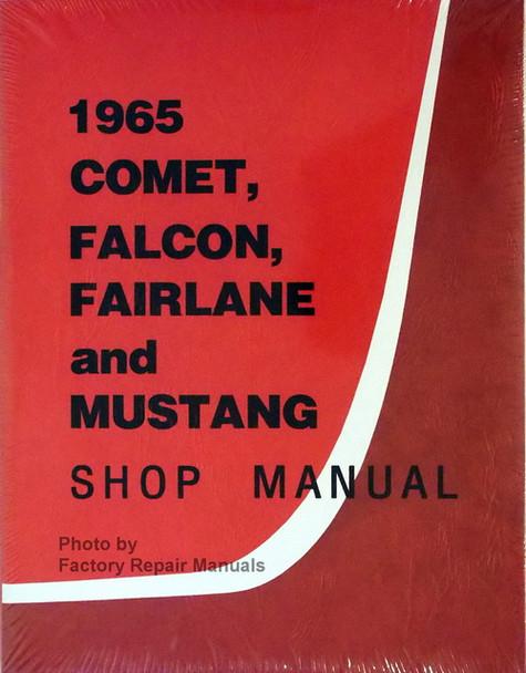 1967 Ford CD Shop Manual Mustang Ranchero Fairlane Futura Falcon ...