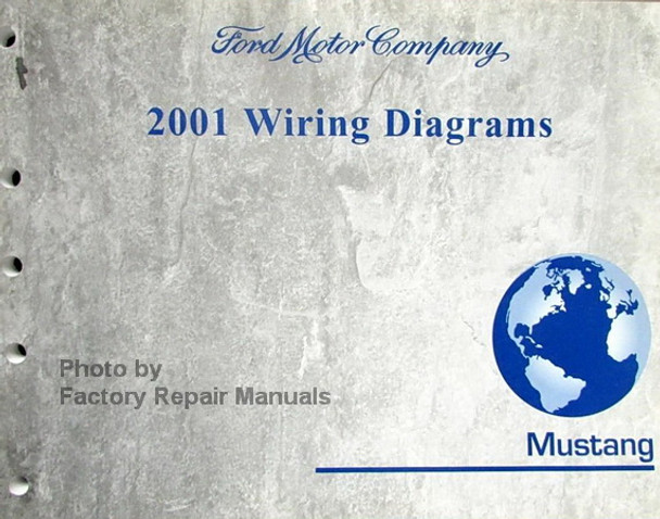 2001 Ford Mustang Electrical Wiring Diagrams Original