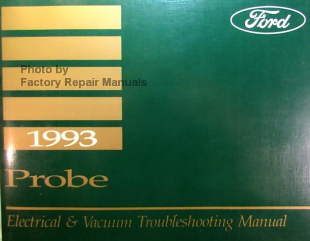 1993 Ford Probe Electrical  U0026 Vacuum Troubleshooting Manual