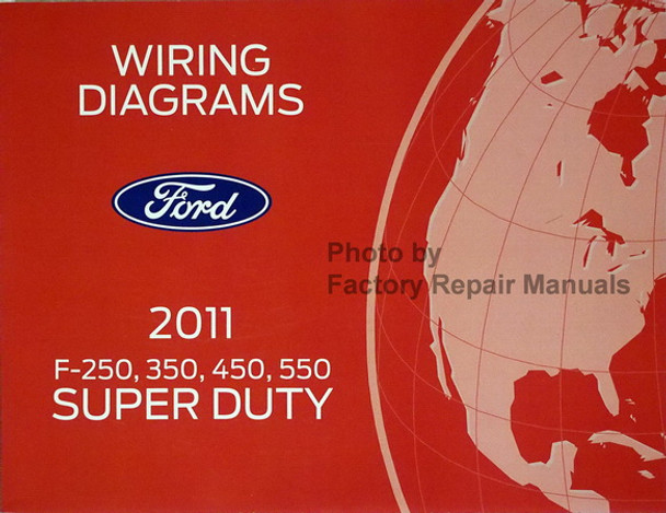 2011 Ford F250 F350 F450 F550 Super Duty Truck Electrical