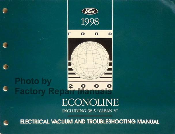 1998 Ford Econoline Van Club Wagon E150 E250 E350 ...