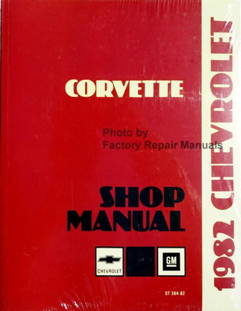 1982 Chevrolet Corvette Shop Manual