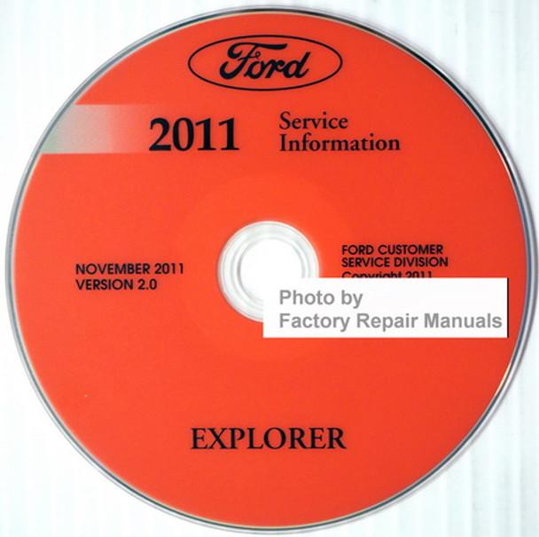 Ford 2011 Explorer Service Information CD