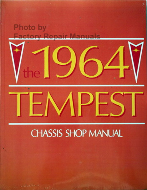 1964 Pontiac Tempest Chassis Shop Manual
