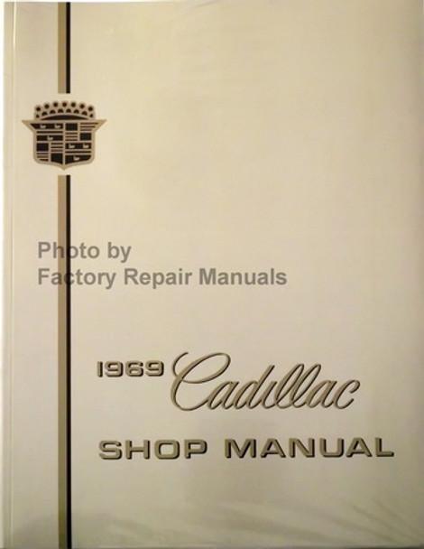 1969 Cadillac Shop Manual