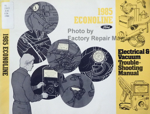 Car Manuals & Literature Service & Repair Manuals 1985 Ford Medium ...