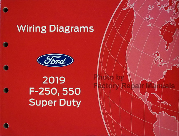 2019 Ford F250 F350 F450 F550 Electrical Wiring Diagrams Original