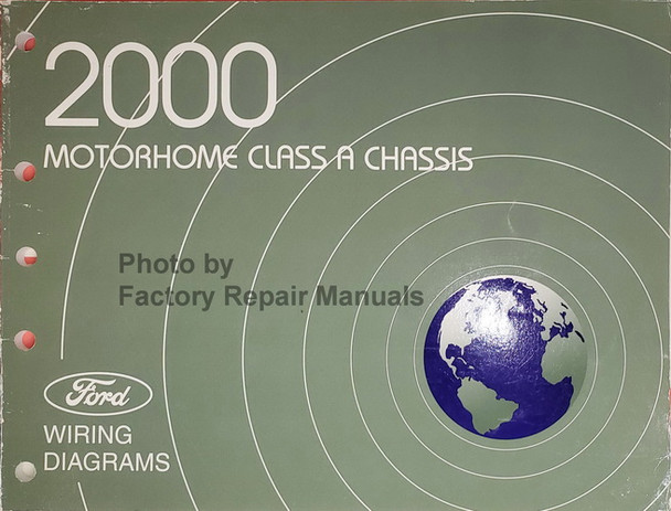 2000 Ford A Class Motorhome Chassis Electrical Wiring Diagrams