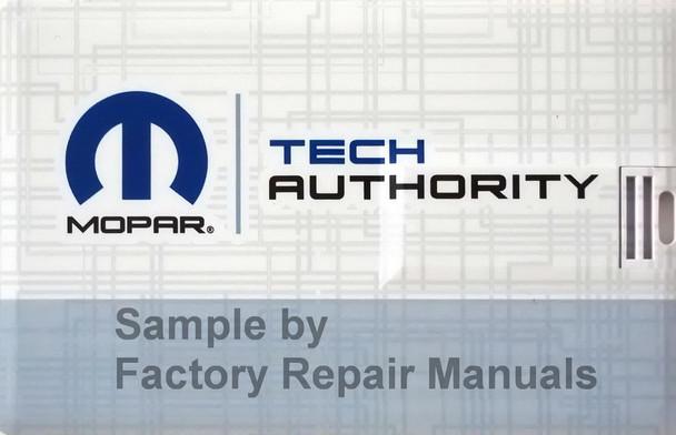 2020 RAM 2500 Truck Electrical Wiring Diagrams Manual USB