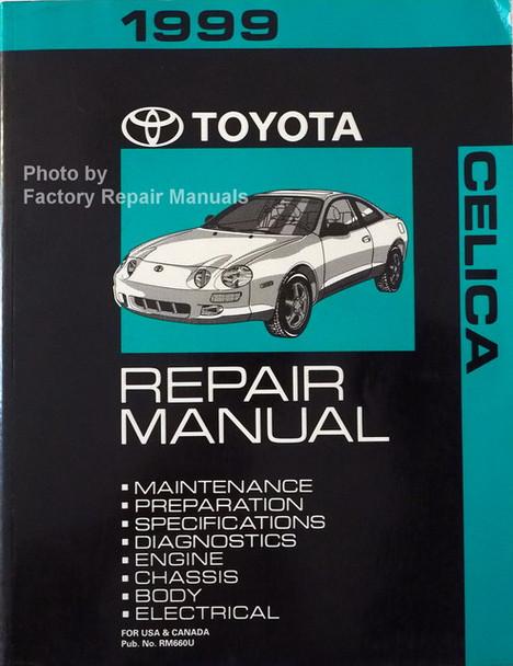 1999 Toyota Celica Repair Manual