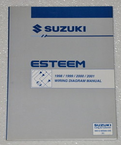 1998 2001 Suzuki Esteem Electrical Wiring Diagrams Shop