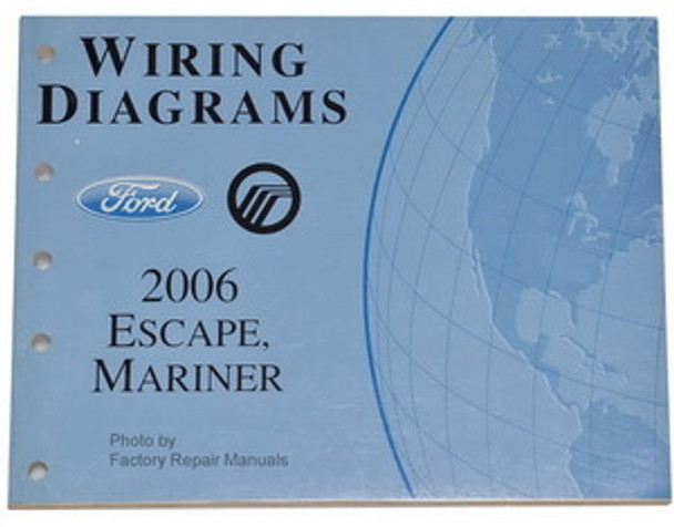2006 Ford Escape  Mercury Mariner Electrical Wiring Diagrams
