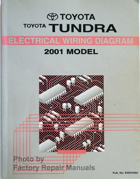 2001 Toyota Tundra Electrical Wiring Diagrams Original ...