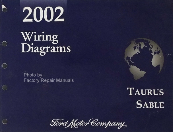 2002 Ford Taurus Mercury Sable Electrical Wiring Diagrams Original Manual