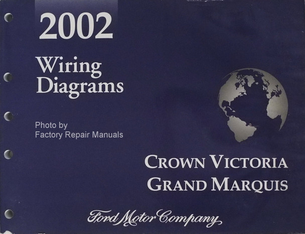 2002 Ford Crown Victoria Mercury Grand Marquis Electrical Wiring Diagrams