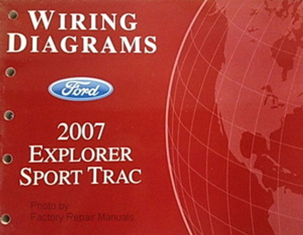 2007 Ford Explorer Sport Trac Electrical Wiring Diagrams