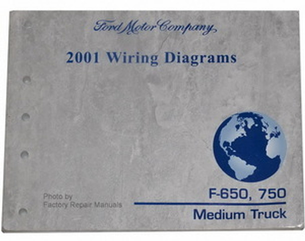 2001 Ford F650 F750 Truck Electrical Wiring Diagrams