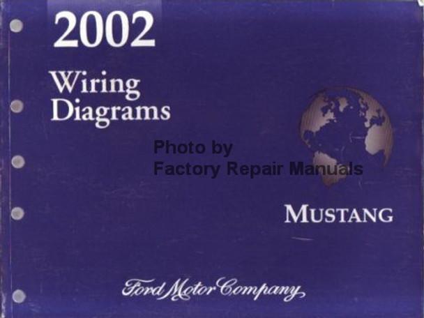 2002 Ford Mustang Electrical Wiring Diagrams Original