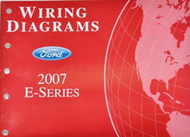 2007 Ford Econoline E150 E250 E350 E450 Electrical Wiring