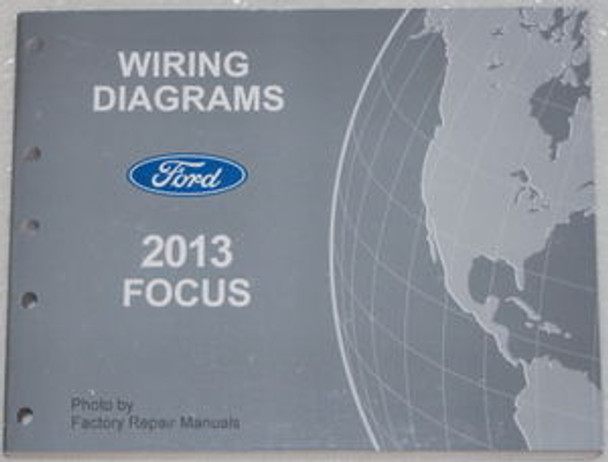 2013 Ford Focus Electrical Wiring Diagrams Manual Gas
