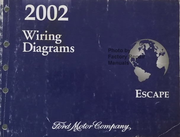 2002 Ford Escape Electrical Wiring Diagrams Original