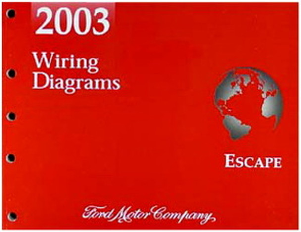 2003 Ford Escape Electrical Wiring Diagrams Original Manual