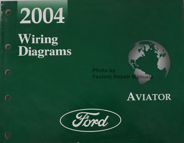 2004 Lincoln Aviator Electrical Wiring Diagrams Manual - Original