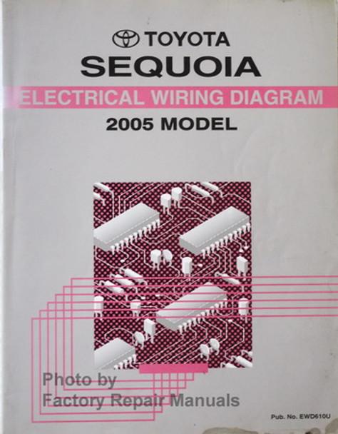 2005 toyota sequoia fuse diagram 2005 toyota sequoia electrical wiring diagrams original factory  2005 toyota sequoia electrical wiring