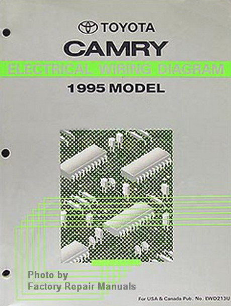 1995 Toyota Camry Electrical Wiring Diagrams Original