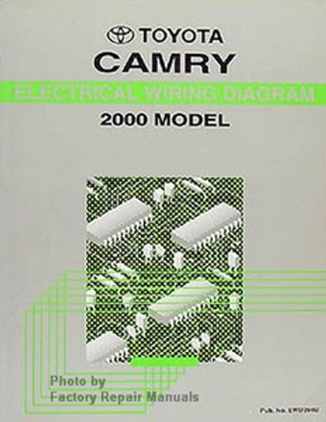 2000 Toyota Camry Electrical Wiring Diagrams Original Factory Manual